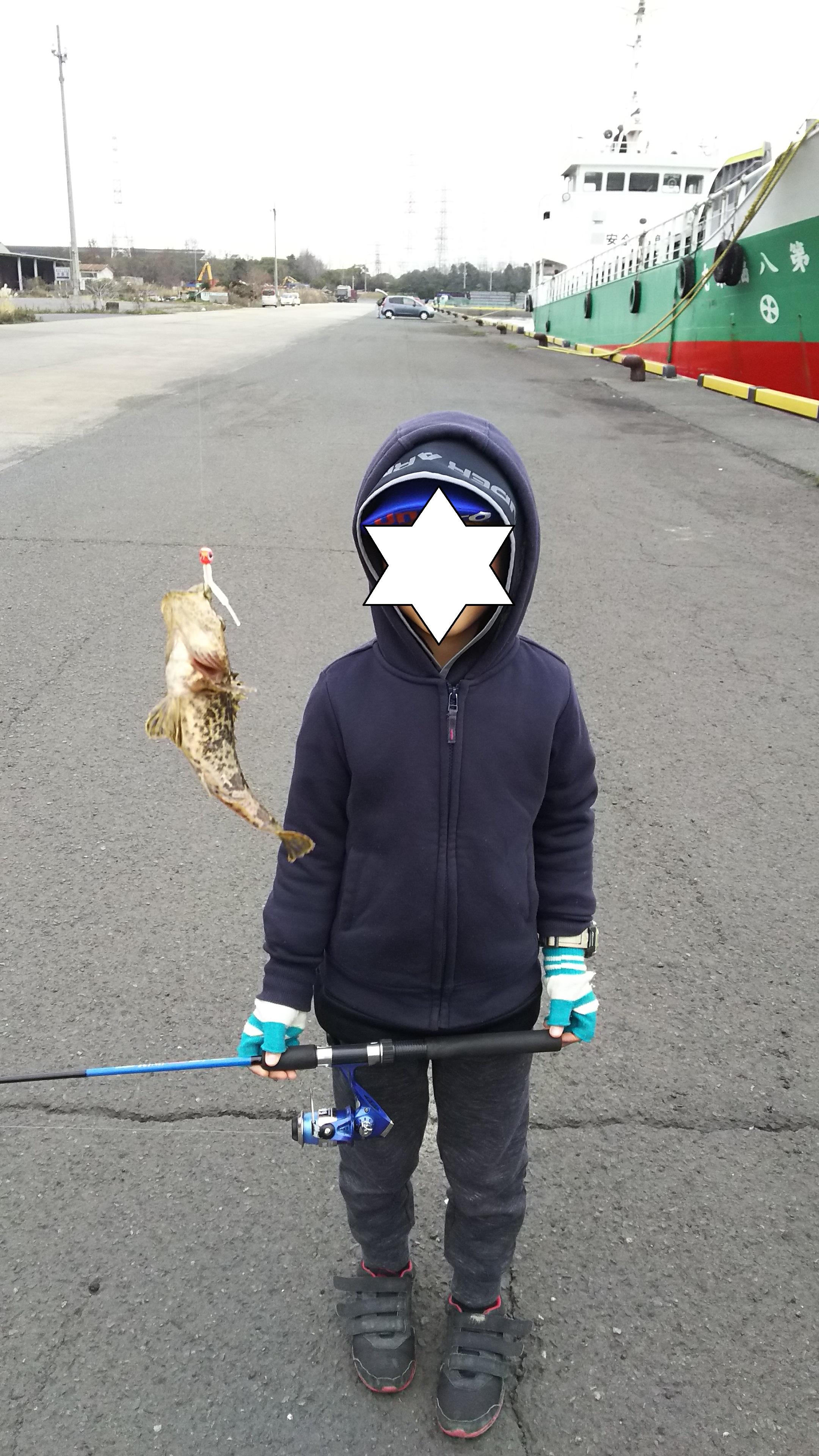 ジグヘッドでカサゴ釣り